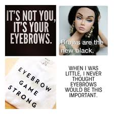 Eyebrow Meme - eyebrow game pretty little statement
