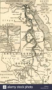 Map Of Sudan Map Of Egypt And The Anglo Egyptian Sudan At The Time Of The