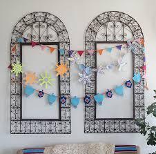 hanukkah window decorations make a place for seasonal decorations creative