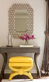 Foyer Table Ideas by Foyer Tables Entrance Foyer Features Round Glass Top Table With