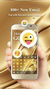 gold 2016 go keyboard theme android apps on play