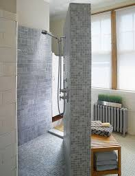 Doorless Shower For Small Bathroom Walk In Doorless Showers For Small Bathrooms Design Ideas Doorless