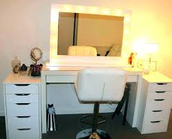makeup dressing table mirror lights luxury table top mirror with lights for grand mirrors lighted table