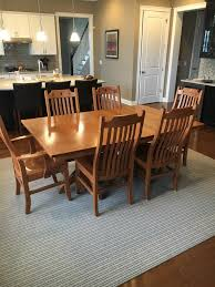 amish originals mission style dining table and chairs upscale