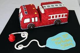 firetruck cake truck cake cupcakes drive