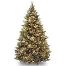 pine artificial tree with clear lights reviews allmodern