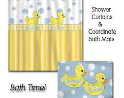 Duck Shower Curtains Rubber Duck Shower Etsy
