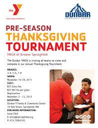 dunbar y thanksgiving basketball tournament ymca