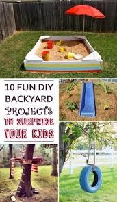 Backyard Kid Activities by 10 Diy Backyard Play Places For Kids Backyard Play Playground