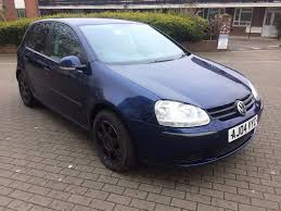 vw golf 1 6 petrol 2004 blue colour 5 door manual 5 month mot