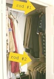 Ideas For Small Closets by Best 20 Tiny Closet Ideas On Pinterest Small Closet Storage