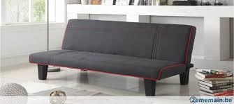 canape lit clic clac canapé lit clic clac 3 places en tissu gris neuf segura a vendre