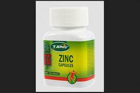 Obat Zinc zinc capsules suplemen peninggi badan alami tiens toko obat herbal