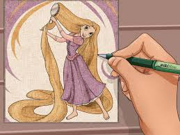 how to draw disney princesses 14 steps with pictures wikihow