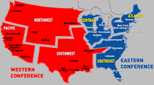 nba divisions map unapologetic conjecture are nba divisions deciding who is 1