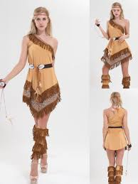 Pocahontas Halloween Costume Adults Cheap Girls Indian Halloween Costumes Aliexpress