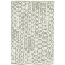 Dash And Albert Diamond by Lattice Ocean Woven Cotton Rug Dash U0026 Albert
