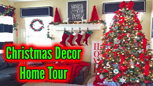 Christmas Decorating Home by Christmas Decorating Home Tour Christmas 2016 Youtube