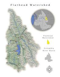 Whitefish Montana Map by The Flathead Watershed
