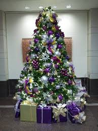 baby nursery alluring white and purple christmas tree high def