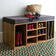 shoe storage units wooden entryway bench with shoe storage units
