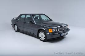 1987 mercedes benz 190e exotic and classic car dealership