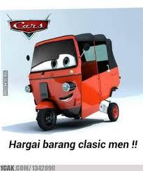 Meme Mobil - bajaj cars jpg