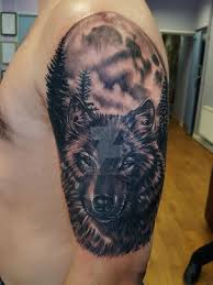 wolf moon by tonoglasgow on deviantart