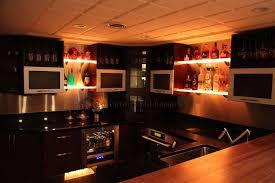 led lighted shelves back bar shelving for home bars u0026 restaurants