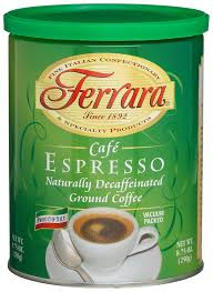 espresso ground coffee amazon com ferrara cafe espresso ground coffee 8 75 ounce
