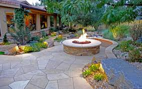 Custom Landscape Lighting by Rustic Ranch And Large Scale Landscape In Greenwood Village Mile