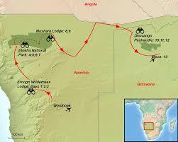 Botswana Map Birding Tour Namibia And Botswana Photo Tour 2018