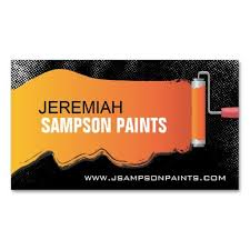 Business Cards Painting Cool Painter Business Card Template 17 For Unique Business Cards