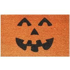 halloween doormat coir pumpkin doormat at home at home