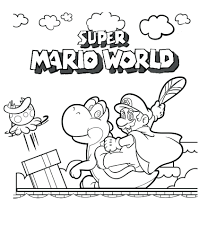 fresh coloring pages additional free colouring mario