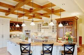 white kitchen cabinets with wood beams 101 kitchen ceilings with exposed wood beams photos home
