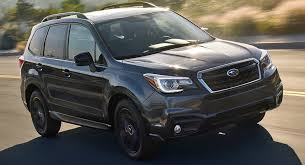 black subaru 2018 subaru forester gets minor price hike and new black edition