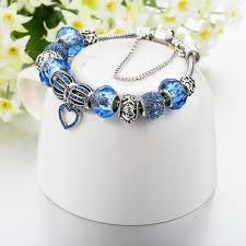 sapphire crystal bracelet images Sapphire crystal gemstone charm bracelet geniemania jpg