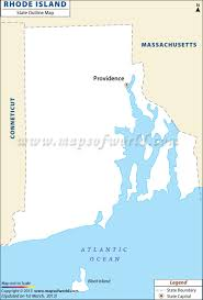 State Map Blank by Blank Map Of Rhode Island Rhode Island Outline Map
