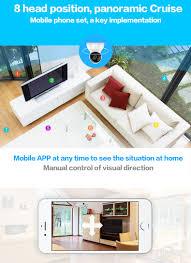 international edition xiaomi yi dome home 360 degree rotary ip