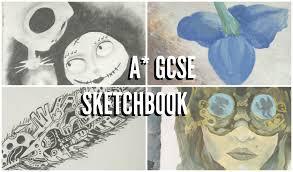 Art And Design Gcse A Gcse Art Sketchbook Exam Prep Fantastic And Strange