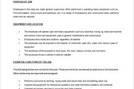 Cnc Operator Job Description For Resume by Machine Operator Resume No Experience Machine Operator Resume