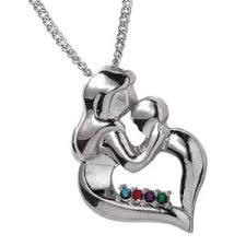 mothers pendants with birthstones s pendant necklace pendants and sterling silver