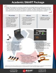 Smarter Technologies Academic Smart Package Promo U2013 Acellent Technologies Inc