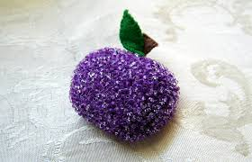 sugar plum beaded felt ornament this is a felt s flickr