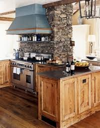 Rustic Modern Kitchen by Rustic Modern Kitchen With Classy But Awesome Look Mix The New