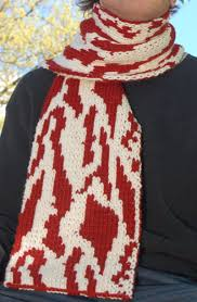 knitting pattern bacon scarf vegan wrapped in bacon scarf craft projects knitting crochet