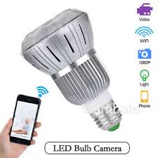motion detector light with wifi camera hd 1080p wifi wireless hidden spy bulb light ip network camera