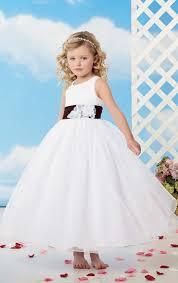 flower dress flower dresses round neck sheer ball gown