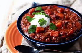 slow cooker quinoa sweet potato u0026 black bean vegetarian chili